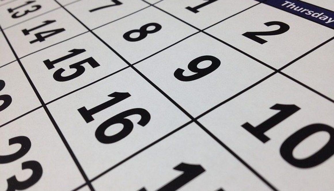 Change date Frederick, Hagerstown, Chambersburg and Gaithersburg